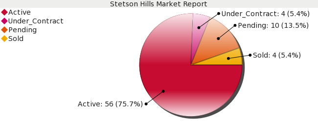 Colorado Springs Real Estate - Market Report - Stetson Hills Subdivision - January 2009